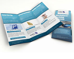 Workplace Parking Scheme - Tri-fold Brochure