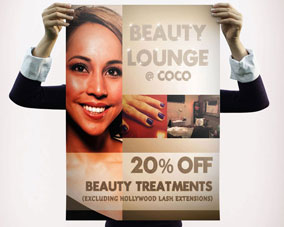 Beauty Lounge - A Frame poster front